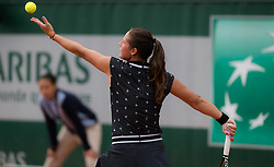 May 30, 2019 - Paris, FRANCE - Daria Kasatkina of Russia in action during her second-round match at the 2019 Roland Garros Grand Slam tennis tournament (Credit Image: © AFP7 via ZUMA Wire)