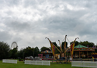 Stratford upon Avon recreation ground Funfair is goes ahead amid concerns from locals over social distancing photo by mark anton smith