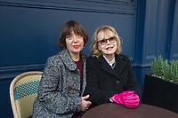 Bulle Ogier et Anne Diatkine Prix Medicis essai  2019 Prix Medicis 2019 Vendredi 8 Novembre 2019 restaurant la Méditerranée  Paris