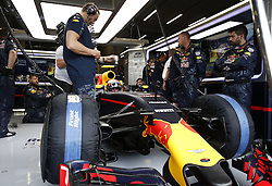 August 28, 2016 - Spa Francorchamps, Belgium - Motorsports: FIA Formula One World Championship 2016, Grand Prix of Belgium, .#33 Max Verstappen (NLD, Red Bull Racing) (Credit Image: © Hoch Zwei via ZUMA Wire)