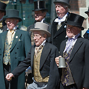 ROCHESTER, ENGLAND - MAY 29:  31st Summer  Dickens Festival celebrates Charles Dickens links with Medway on May 29, 2009 in Rochester, England.  (Photo by Marco Secchi/Getty Images)