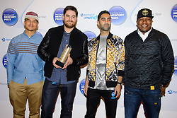 Rudimental during the Barclaycard Mercury Prize Nominations, London, United Kingdom. Wednesday, 11th September 2013. Picture by Chris Joseph / i-Images