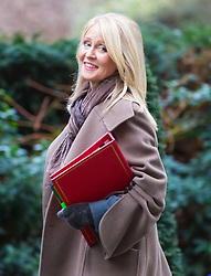 London - Secretary of State for Work and Pensions Esther McVey attends the weekly meting of the UK cabinet at Downing Street. January 23 2018.
