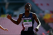Jeanice Laviolette (FRA) competes in 110 Metres Hurdles Men during the IAAF World U20 Championships 2018 at Tampere in Finland, Day 2, on July 11, 2018 - Photo Julien Crosnier / KMSP / ProSportsImages / DPPI