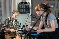 Mikko Jalmari and Laura Koo of Finnish indie-rock band The Holy at Iceland Airwaves