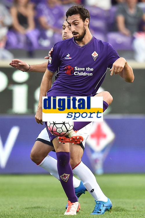 Davide Astori Fiorentina <br /> Firenze 12-09-2015 Stadio Artemio Franchi Football Calcio Serie A 2015/2016 Fiorentina - Genoa Foto Andrea Staccioli / Insidefoto<br /> Fiorentina captain Davide Astori dies suddenly aged 31 . <br /> Astori was staying a hotel with his team-mates ahead of their game on Sunday away at Udinese when he passed away. <br /> Foto Insidefoto
