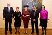 Prinses Beatrix bij Max van der Stoel Award