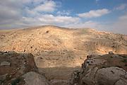 Israel, Jordan Valley, Wadi Qelt offroad hiking