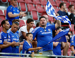 20.07.2016, Wörthersee Stadion, Klagenfurt, AUT, Testspiel, RZ Pellets WAC gegen FC Chelsea im Bild Fans des FC Chelsea // during a football test match between RZ Pellets WAC and FC Chelsea at the Wörthersee Stadium, Klagenfurt, Austria on 2016/07/20, EXPA Pictures © 2016, PhotoCredit: EXPA/ Wolfgang Jannach