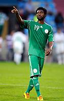 Fotball<br /> Nigeria v Saudi Arabia<br /> Wattens Østerrike<br /> 25.05.2010<br /> Foto: Gepa/Digitalsport<br /> NORWAY ONLY<br /> <br /> FIFA Weltmeisterschaft 2010 in Suedafrika, Vorberichte, Vorbereitung, Vorbereitungsspiel, Freundschaftsspiel, Laenderspiel, Nigeria vs Saudi-Arabien. <br /> <br /> Bild zeigt Lukman Haruna (NGR).