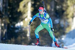 Miha Dovzan of Slovenia during the IBU World Championships Biathlon 20km Individual Men competition on February 17, 2021 in Pokljuka, Slovenia. Photo by Primoz Lovric / Sportida