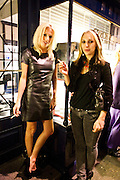 LUCINDA COOK; SERENA MATTAR, Tatler Little Black book party. Tramps. 3 November 2010. -DO NOT ARCHIVE-© Copyright Photograph by Dafydd Jones. 248 Clapham Rd. London SW9 0PZ. Tel 0207 820 0771. www.dafjones.com.