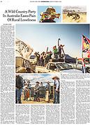 New York Times Tearsheet by Australian Melbourne based photojournalist Asanka Brendon Ratnayake