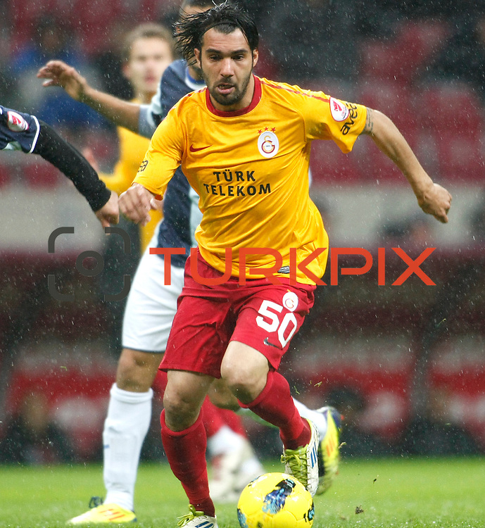 Galatasaray's Engin Baytar during their Turkey Cup matchday 3 soccer match Galatasaray between AdanaDemirspor at the Turk Telekom Arena at Aslantepe in Istanbul Turkey on Tuesday 10 January 2012. Photo by TURKPIX