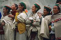 Inde, Province de l'Himachal Pradesh, Vallee du Kinnaur // India, Himachal Pradesh Province, kinnaur valley, Sarahan village.