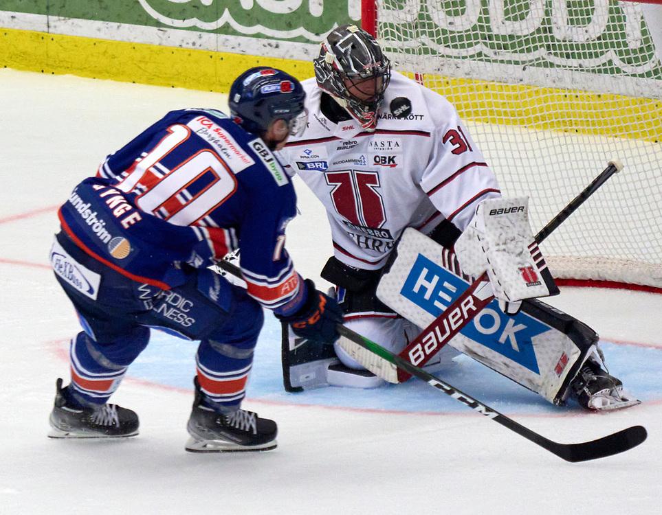 2021-09-16 VÄXJÖ<br /> Växjö Lakers - Örebro HK<br /> SHL Omgång 2<br /> <br /> Växjö Lakers Richard Gynge, bränner en straff<br /> <br /> <br />  ***betalbild***<br /> <br /> Foto: Peo Möller<br /> <br /> SHL, ishockey, Växjö Lakers, is, rink, spelare, hockey, hockeyspelare, Växjö, ishall, Vida Arena, SHL Premiär 2021