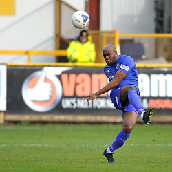 TELFORD COPYRIGHT MIKE SHERIDAN  Theo Streete of Telford during the Vanarama Conference North fixture between Boston and AFC Telford United at the Jakemans Stadium, York Street on Saturday, February 22, 2020.<br /> <br /> Picture credit: Mike Sheridan/Ultrapress<br /> <br /> MS201920-047