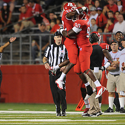 Rutgers defeats North Carolina Central 48-0 in NCAA college football action at High Point Solutions Stadium in Piscataway, N.J. on Sept 1, 2011.