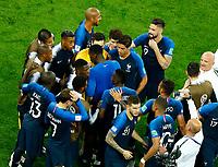 Paul Pogba (France) talking with the teammates<br /> Saint Petersburg 10-07-2018 Football FIFA World Cup Russia  2018 Semifinal <br /> France - Belgium / Francia - Belgio <br /> Foto Matteo Ciambelli/Insidefoto