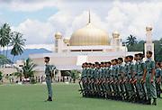 Military display in Kuala Lumpur, Malaysia