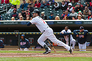 Joe Mauer #7 of the Minnesota Twins bats during against the Miami Marlins in Game 1 of a split doubleheader on April 23, 2013 at Target Field in Minneapolis, Minnesota.  The Twins defeated the Marlins 4 to 3.  Photo: Ben Krause