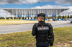 14.06.2016, Stade de Bordeaux, Bordeaux, FRA, UEFA Euro, Frankreich, Oesterreich vs Ungarn, Gruppe F, im Bild Gendarmerie und Polizei vor dem Stadion // Gendarmerie and police outside the stadium before Group F match between Austria and Hungary of the UEFA EURO 2016 France at the Stade de Bordeaux in Bordeaux, France on 2016/06/14. EXPA Pictures © 2016, PhotoCredit: EXPA/ JFK