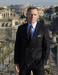 Feb. 18, 2015 - Rome, Italy - Actors DANIEL CRAIG during a photo call for the 24th James Bond movie 'Spectre' in the Senatorial Palace. (Credit Image: © ANSA/ZUMA Wire)