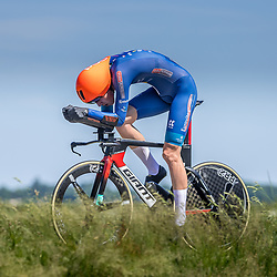 EMMEN (NED) June 16: <br />CYCLING <br />Dutch Nationals Time Trail men U23 <br />Werner van der Meer