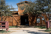 JUSTIN, TX - FEBRUARY 4, 2014: An enclosed stable at a home for sale at 1780 Strader Road for the What You Get column. (Cooper Neill / for The New York Times)