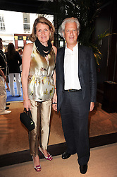 LORD & LADY KENILWORTH at the Ralph Lauren Wimbledon Party held at Ralph Lauren, 1 New Bond Street, London on 17th June 2010.