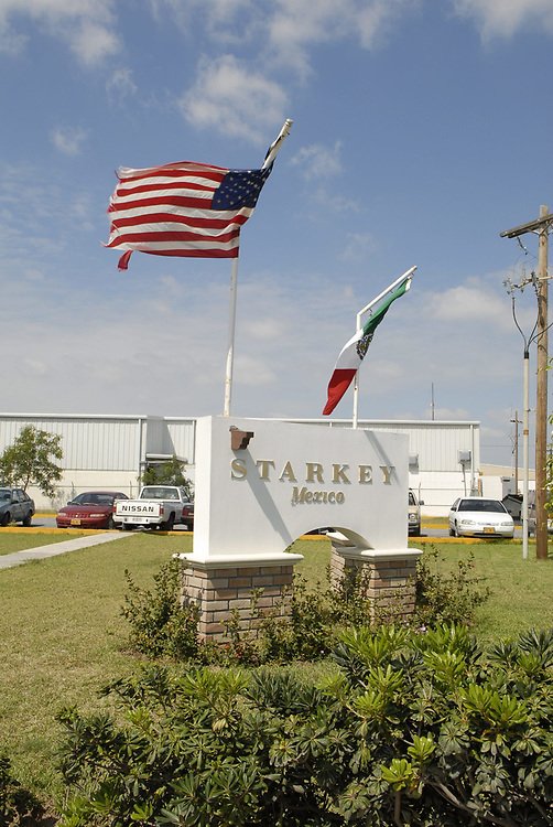 Matamoros, Mexico, April, 2006:  Mexican facotry of U.S-based Starkey makeer of hearing aids. ©Bob Daemmrich /