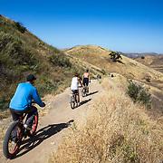 Neighborhood life in West Hills, CA.