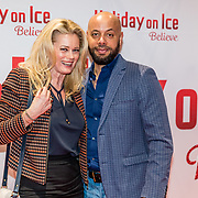 NLD/Utrecht//20170323 - Première 'Believe' van Holiday On Ice, Monique Sluyter en partner
