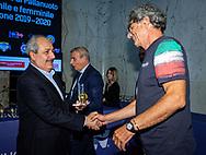 Da Sx a Dx<br /> Massimo Tafuro<br /> Antonello Panza<br /> Presentazione Campionato Italiano Pallanuoto 2019-2020<br /> Federazione Italiana Nuoto FIN<br /> Foro Italico Sala conferenze 03/10/2019<br /> Photo © Deepbluemedia