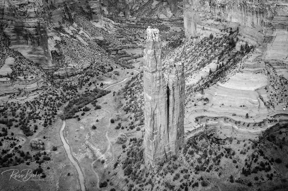 Spider Rock, Canyon de Chelly National Monument, Arizona USA