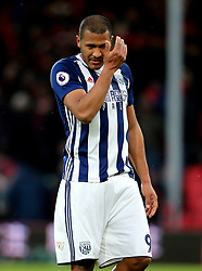 West Bromwich Albion's Salomon Rondon appears dejected during the Premier League match at the Vitality Stadium, Bournemouth.