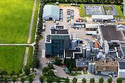 Nederland, Noord-Holland, Beemster, 14-06-2012; De Beemster, 400 jaar 1612 - 2012. Fabriek van CONO Kaasmakers, een cooperatie. De kaasfabriek aan de Rijperweg maakt Beemsterkaas. .CONO cheesemakers, a cooperative. The cheese factory makes Beemster cheese..luchtfoto (toeslag), aerial photo (additional fee required);.copyright foto/photo Siebe Swart