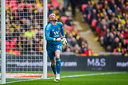 John Ruddy (GK) (Wolverhampton Wanderers) during the FA Cup semi-final match between Watford and Wolverhampton Wanderers at Wembley Stadium in London, England on 7 April 2019.