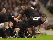 Richmond/Twickenham, England, Autumn International, and All Blacks Trianing at Old Deer Park. <br /> 09/11/2002<br /> International Rugby England vs New Zealand<br /> Danny Lee       [Mandatory Credit:Peter SPURRIER/Intersport Images]