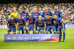 August 7, 2017 - Barcelona, Catalonia, Spain - The start squad of the FC Barcelona poses for a photo prior to the 52nd Joan Gamper Trophy at the Camp Nou stadium in Barcelona (Credit Image: © Matthias Oesterle via ZUMA Wire)
