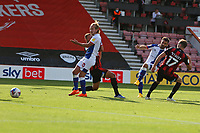 Football - 2020 / 2021 EFL Championship - AFC Bournemouth vs. Blackburn Rovers<br /> <br /> Adam Armstrong of Blackburn Rovers curls in Blackburns equaliser at the Vitality Stadium (Dean Court) Bournemouth <br /> <br /> COLORSPORT/SHAUN BOGGUST