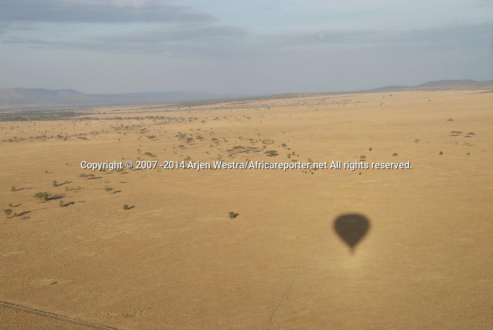 Hot air ballooning in the Serengeti
