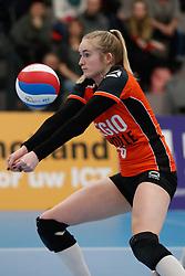20180331 NED: Eredivisie Sliedrecht Sport - Regio Zwolle, Sliedrecht <br />Iris Reinders (6) of Regio Zwolle<br />©2018-FotoHoogendoorn.nl / Pim Waslander