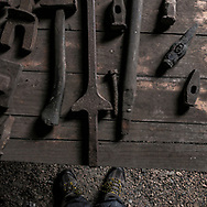 Historical images of Yarloop Workshop, Western Australia. Images Tony McDonough / Raw Image