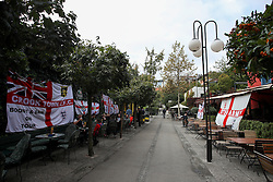 Fans of England prior to the football match between National teams of Slovenia and England in Round #3 of FIFA World Cup Russia 2018 Qualifier Group F, on October 11, 2016 in Ljubljana, Slovenia. Photo by Matic Klansek Velej / Sportida