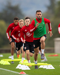 CARDIFF, WALES - Wednesday, September 2, 2020: Wales' Hal Robson-Kanu during a training session at the Vale Resort ahead of the UEFA Nations League Group Stage League B Group 4 match between Finland and Wales. (Pic by David Rawcliffe/Propaganda)