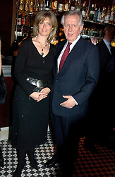 STEVEN & EMMA NORRIS at a fund raising dinner hosted by Marco Pierre White and Frankie Dettori's in aid of Conservative Party's General Election Campaign Fund held at Frankie's No.3 Yeoman's Row,¾London SW3 on 17th January 2005.<br />