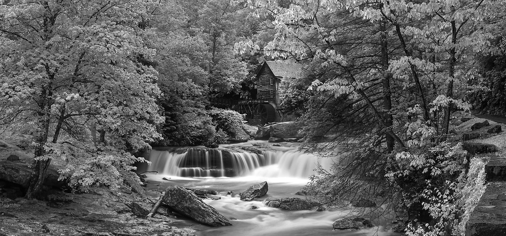 Glade Creek Grist Mill. Babcock State Park. West Virginia.