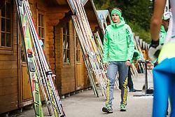Jaka Hvala during national competition in Ski Jumping, 8th of October, 2016, Kranj,  Slovenia. Photo by Grega Valancic / Sportida