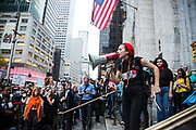 #cancelkavanaugh protest took a place in front of Trump Tower in Manhattan, New York on October 4th, 2018